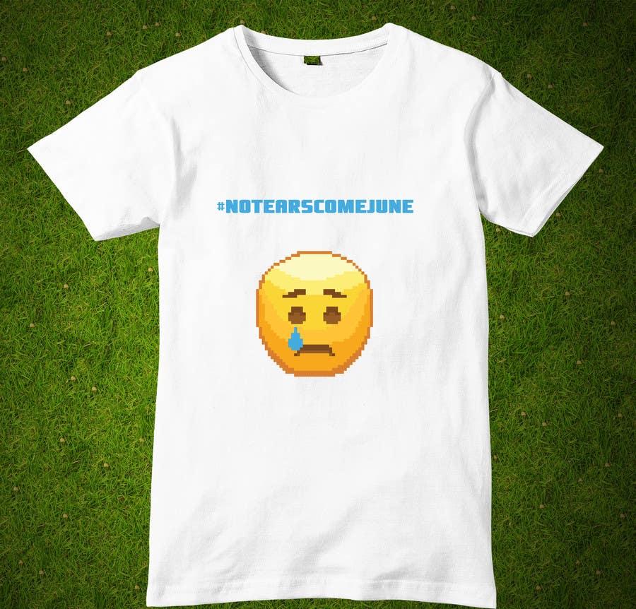 Proposition n°4 du concours Design a T-Shirt w/ Crying Emoji