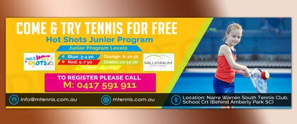 #49 for Design a Tennis Banner by Dreamfocus