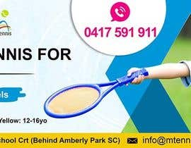 nº 53 pour Design a Tennis Banner par satishandsurabhi