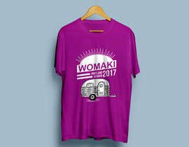 #33 for WoMaKi T-shirt logo by bangichaal