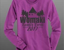 #39 for WoMaKi T-shirt logo by azmantony74