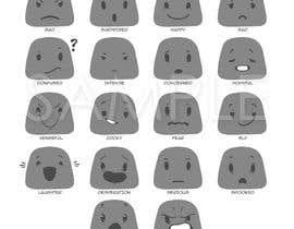 nº 12 pour Facial expressions for a character par jangmarzan