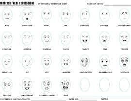 nº 6 pour Facial expressions for a character par sonalfriends86