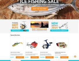 #2 untuk Design a Website Mockup for ecommerce fishing store oleh RyuiOnline