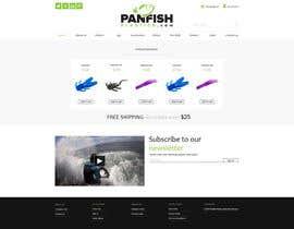 #11 untuk Design a Website Mockup for ecommerce fishing store oleh krasotina