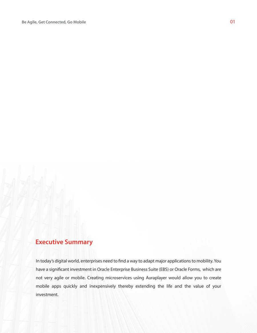 Entry #3 by abdullahlingga for Design a WhitePaper based on