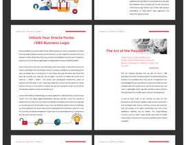 nº 41 pour Design a WhitePaper based on a draft we have attached par Decafe