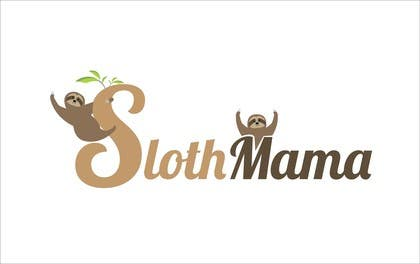 #23 for Logo Design for SLOTH MAMA by crazenators