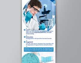 nº 15 pour Biotech Banner par Marynaionova