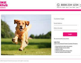 #81 for Design a Pet Insurance Website Mockup by appionixtech