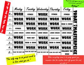 #2 for Design a weekday time table contest for work-from-home entrepreneur by nerdnest