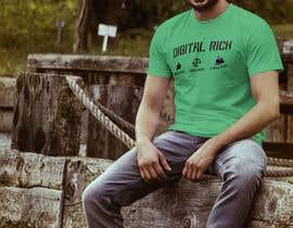 nº 26 pour Design a T-Shirt_Digital Rich par RafeursDesign