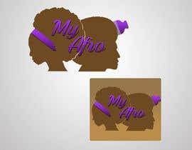 """Nro 27 kilpailuun logo design for my """" MyAfro"""" käyttäjältä Seap05"""