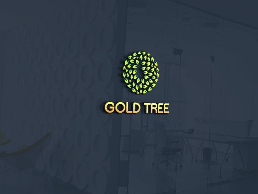 Proposition n°3 du concours Golden Tree logo