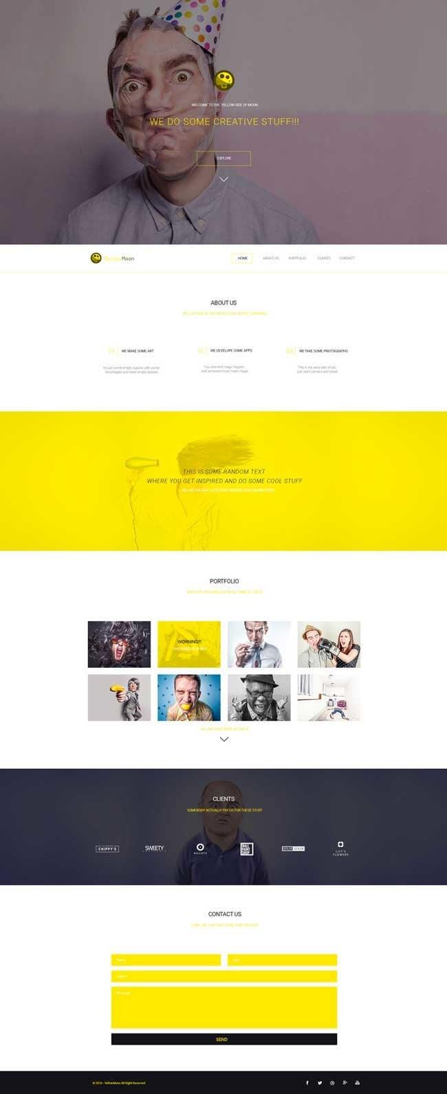 Proposition n°27 du concours Design a Website 7-10 pages