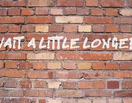 nº 11 pour Illustrate Something - Image of a wall with a quote par TCreativeStudio