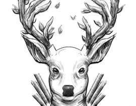 nº 8 pour Tattoo Design: Abstract Animal Theme (Preferably Blue Whale, Lion or Deer) par CoreyHebert