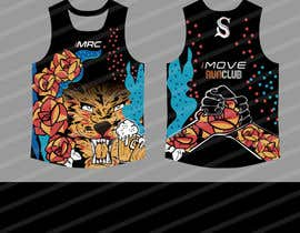 #34 for Replicate graphic art onto running singlet by gilart
