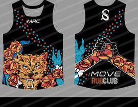 #43 for Replicate graphic art onto running singlet by gilart