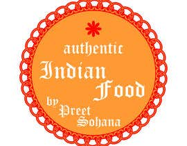 "nº 7 pour Logo for ""Indian Authentic Food By Preet Sohana"" par legalidentities"