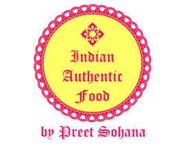 "nº 9 pour Logo for ""Indian Authentic Food By Preet Sohana"" par legalidentities"