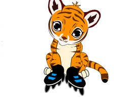 #29 for Design a Logo - baby skating tiger by sonalfriends86