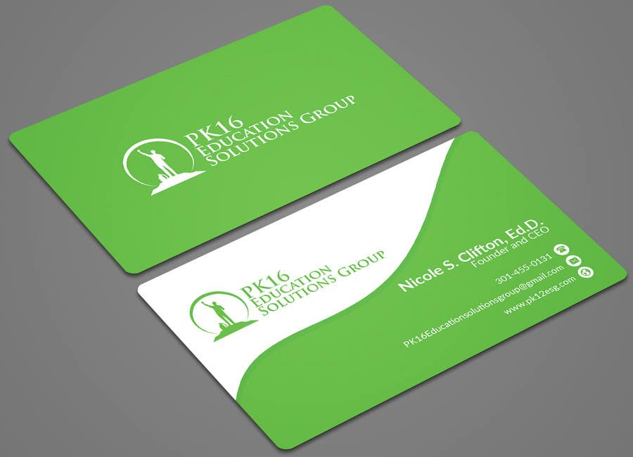 Entry #129 by mehfuz780 for Business card for education consultant ...