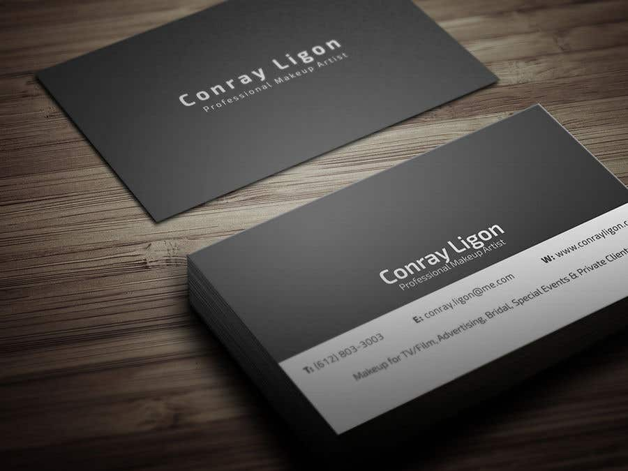 Contest Entry 102 For Professional Business Card Male Makeup Artist