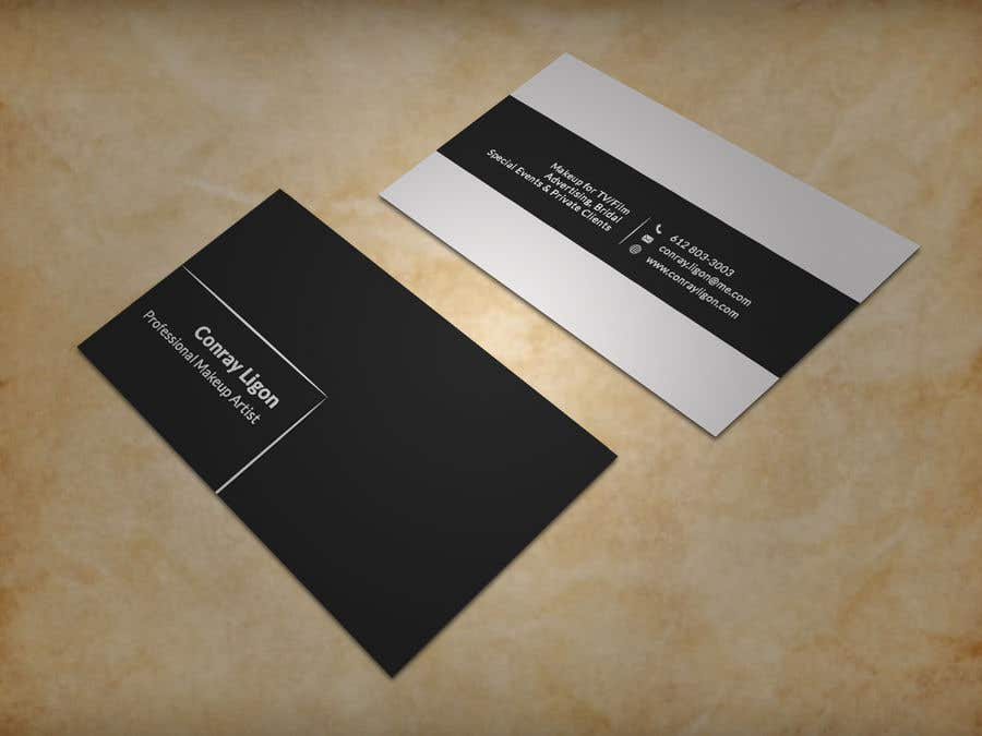 Entry 227 By Sujan18 For Professional Business Card For Male Makeup