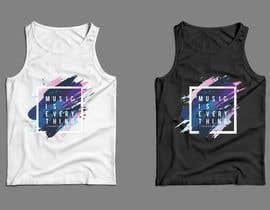 nº 19 pour Design Summer Tank Top for Live Bold Clothing par SupertrampDesign