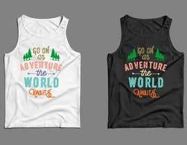 nº 29 pour Design Summer Tank Top for Live Bold Clothing par SupertrampDesign