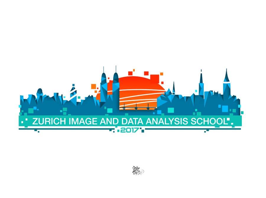 Kilpailutyö #37 kilpailussa Design a Logo for Zurich Image and Data Analysis School 2017 (ZIDAS2017)