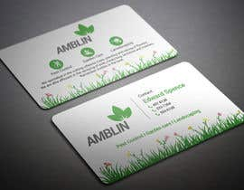 nº 30 pour Amblin Pest Control Business Cards par BikashBapon