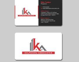 Nro 166 kilpailuun Design visiting card käyttäjältä mahmudkhan44