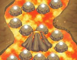 nº 4 pour Puzzle RPG Game Map Illustration par ShepherdStyle