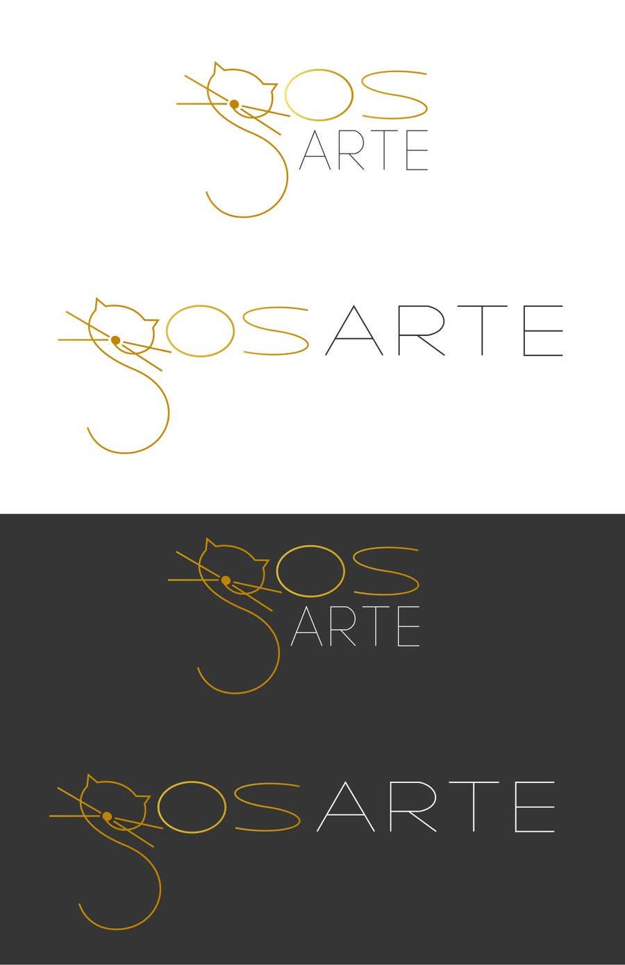 Kilpailutyö #                                        49                                      kilpailussa                                         Logo para GOSarte(www.octaviosegura.com)