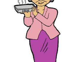 Nro 8 kilpailuun Illustrate a lady in cartoon style käyttäjältä ersatzgibby