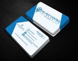 Nro 77 kilpailuun Pro Design some Business Cards for Pest Control Company käyttäjältä sujatasuja