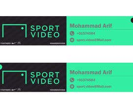 #85 for Design an email signature for sport company by mohammadArif200