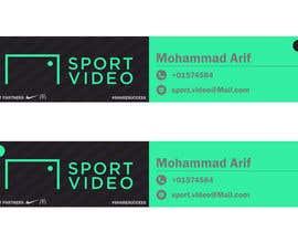 nº 85 pour Design an email signature for sport company par mohammadArif200