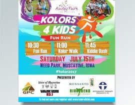 nº 7 pour Design a Color Run Poster and Handout Combo for Non-Profit par ridwantjandra