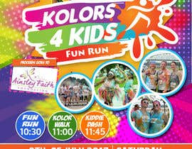 nº 2 pour Design a Color Run Poster and Handout Combo for Non-Profit par ericzgalang