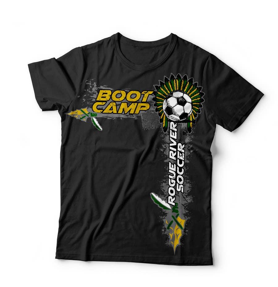 Kilpailutyö #                                        6                                      kilpailussa                                         Soccer Camp T-Shirt