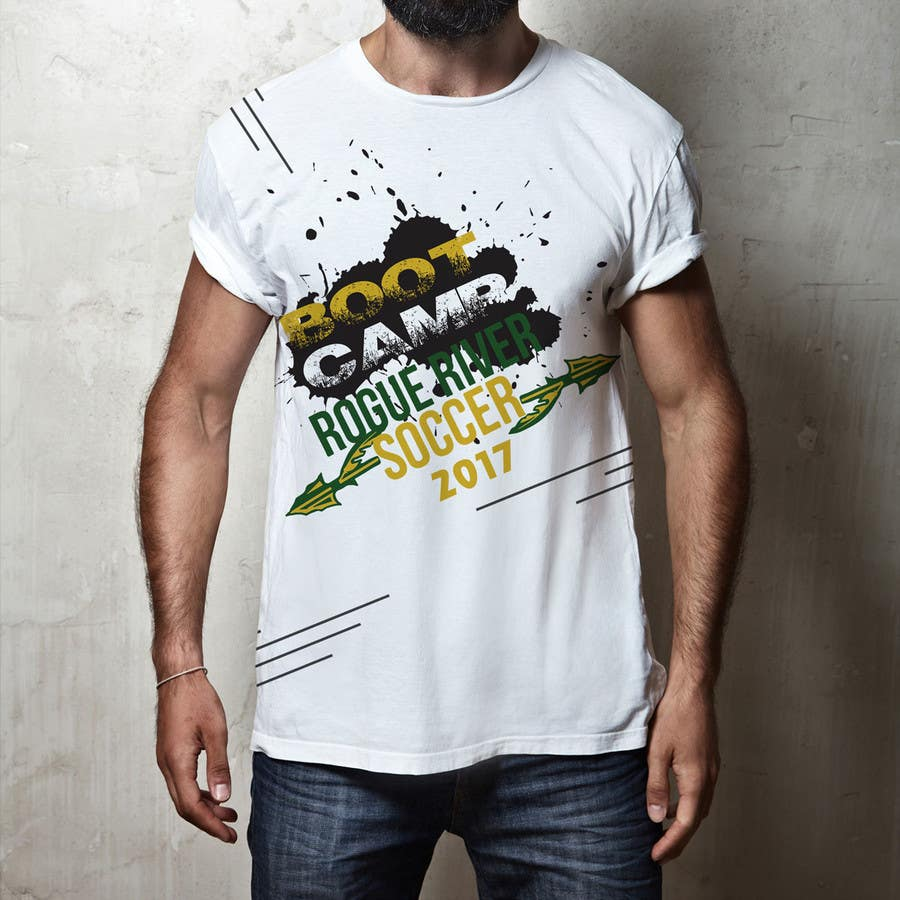 Kilpailutyö #                                        55                                      kilpailussa                                         Soccer Camp T-Shirt