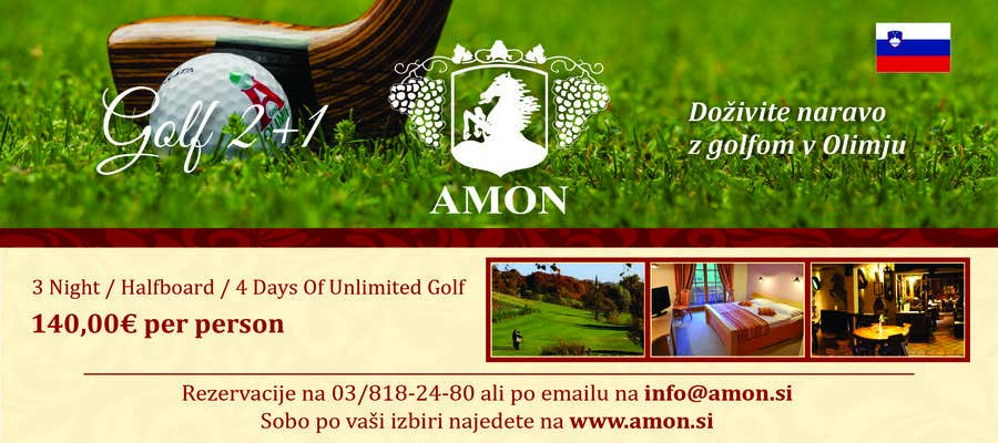 Entry 3 By Manojm2 For Design A Golf Banner For Website And A Magazine Freelancer