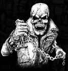 Graphic Design Kilpailutyö #16 kilpailuun Illustrate a Skull - Angry and Badass