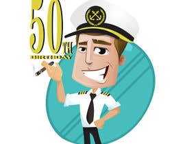 nº 1 pour Cartoonist required to create an 50th birthday invitation par Jhoandri