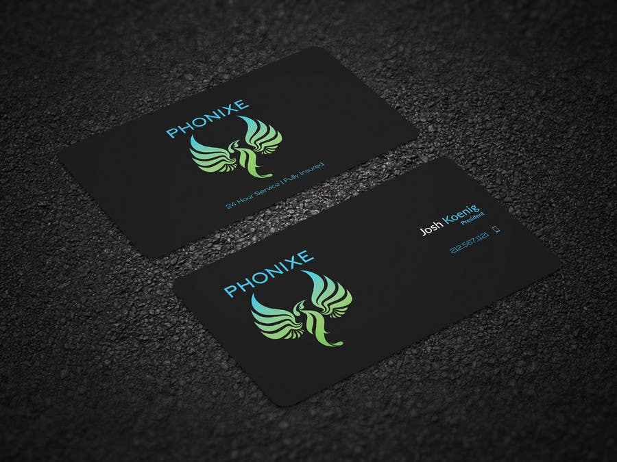 Proposition n°158 du concours Logo and business card design.