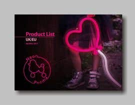 nº 10 pour Product Lookbook/Catalogue Front Page Design par Gyaan19