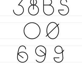 Nro 2 kilpailuun Be a part of History!  Design a font style for visually impared. käyttäjältä Jharna3
